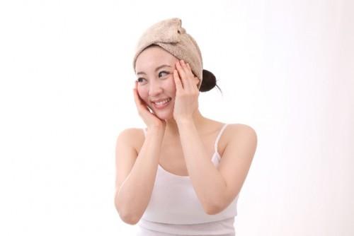 洗顔後の保湿