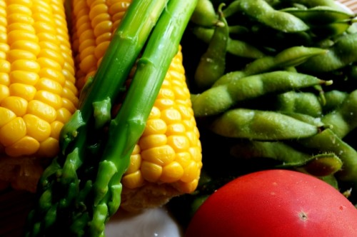 夜ご飯は野菜を中心に食べる