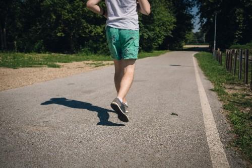 ランニングで筋肉がつき体がシェイプされる