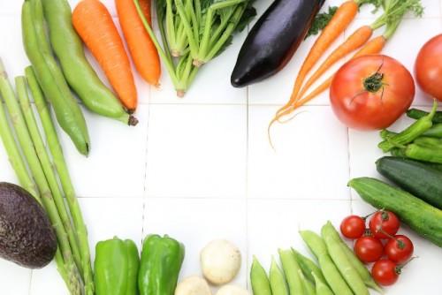 緑黄色野菜にはビタミンBが豊富