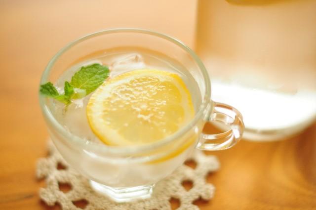 ビタミンCレモン水