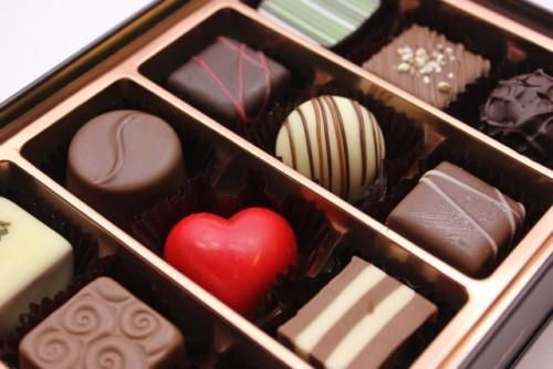 チョコレートを食べる事で効果倍増!