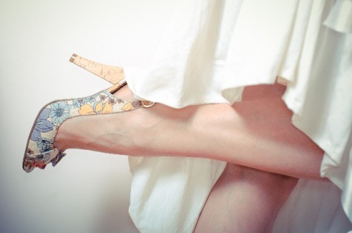ヒールならではの足の裏の使い方