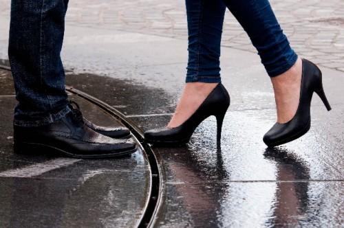 美しい脚さばきの基本はバランス能力