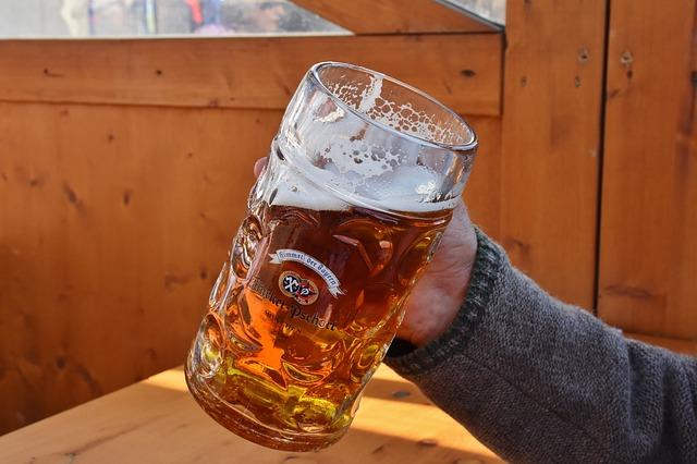ビールには多くの栄養が含まれている!