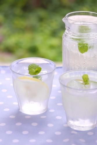 レモン水は消化不良を改善