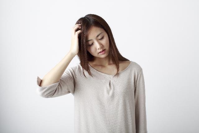女性にも多い脱毛症