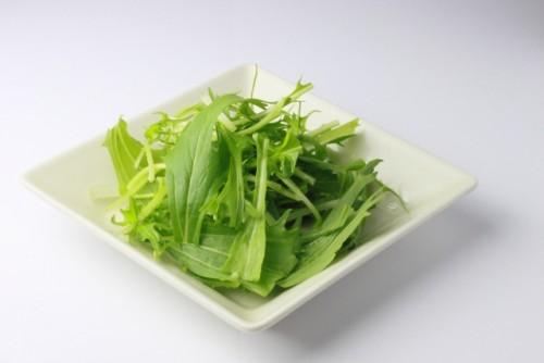 美肌を作る水菜の栄養パワー