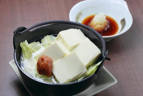 ダイエッターの強い味方!「湯豆腐鍋」
