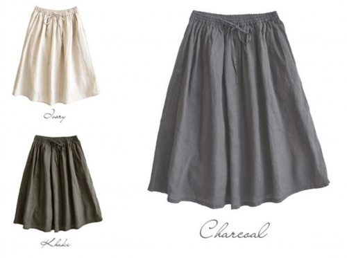 ミモレ丈スカートはどんなトップスと相性が良い?
