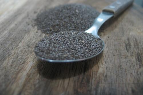 スーパーフードと呼ばれ、高い栄養素を含むチアシード