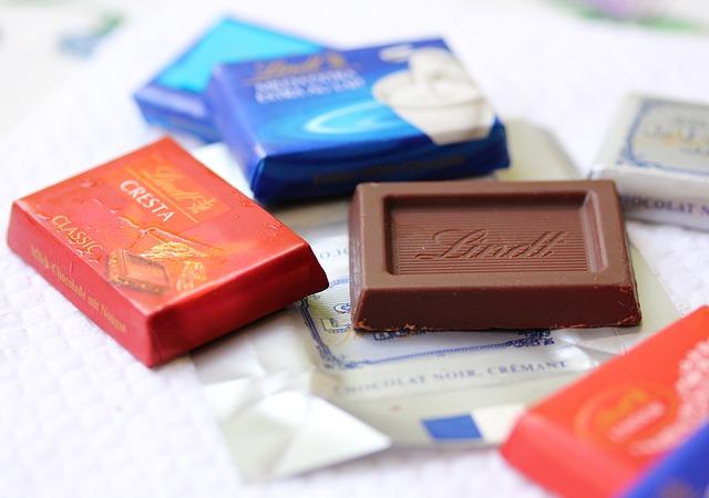 ビターチョコレートを食前に食べるとダイエットに役立つ